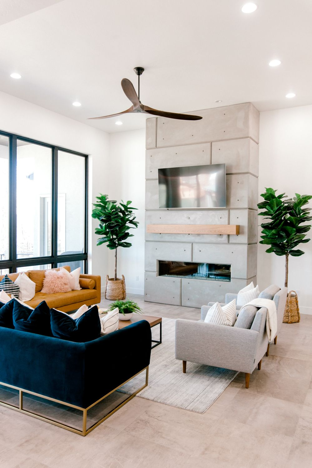 our home family room kailee wright front room and fireplace in rh pinterest com