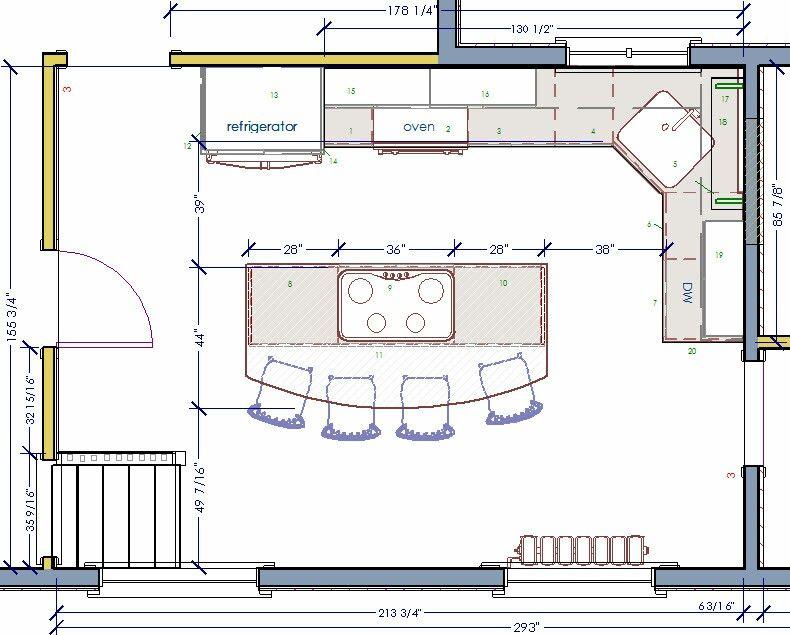 Pin By Jamie Panaciulli On 224 Kitchen Plans In 2019 Kitchen Floor