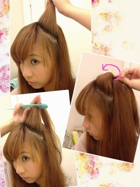 Japanese Cat Ear Tutorial Kawaii Hairstyles Kawaii Hair Tutorial Japanese Hairstyle