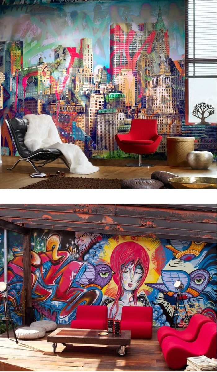 25 cool graffiti wall interior ideas projects to try pinterest that top hoe