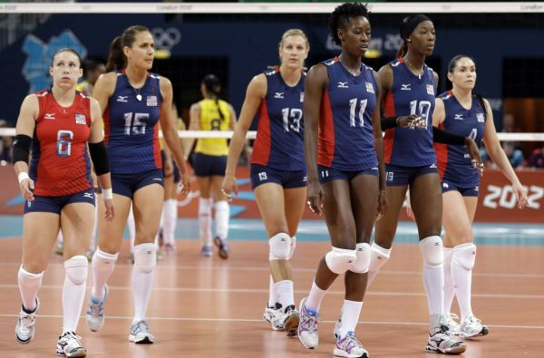 Us Women S Volleyball Loses In Final Women Volleyball Olympic Volleyball Olympics