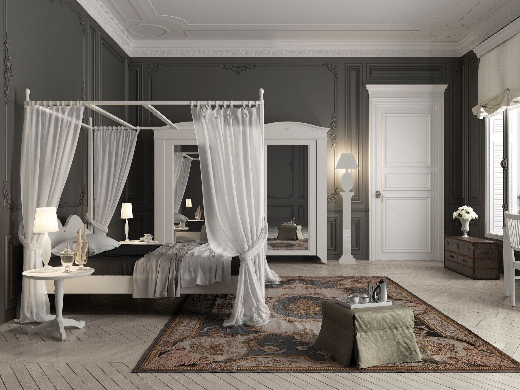 ANSOUIS Full size bed by Minacciolo