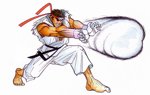 Hadouken Ryu Street Fighter Street Fighter Arte Conceitual De