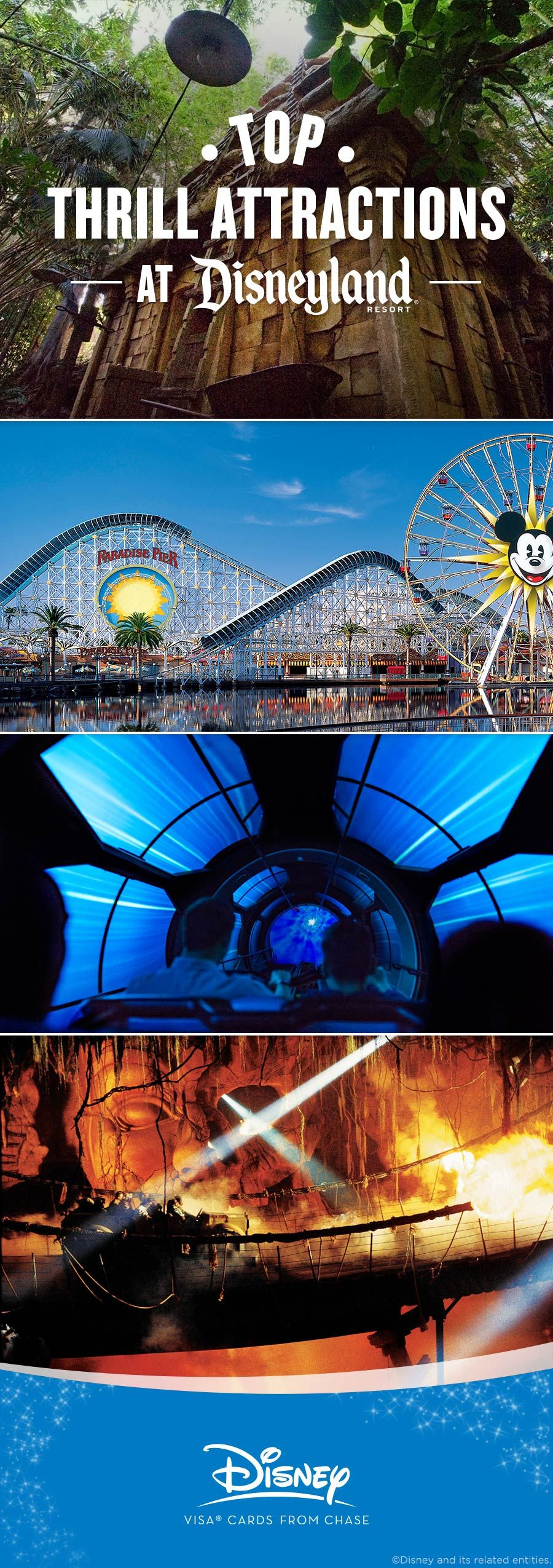 Disney Parks Top 6 Thrilling Attractions Disneyland