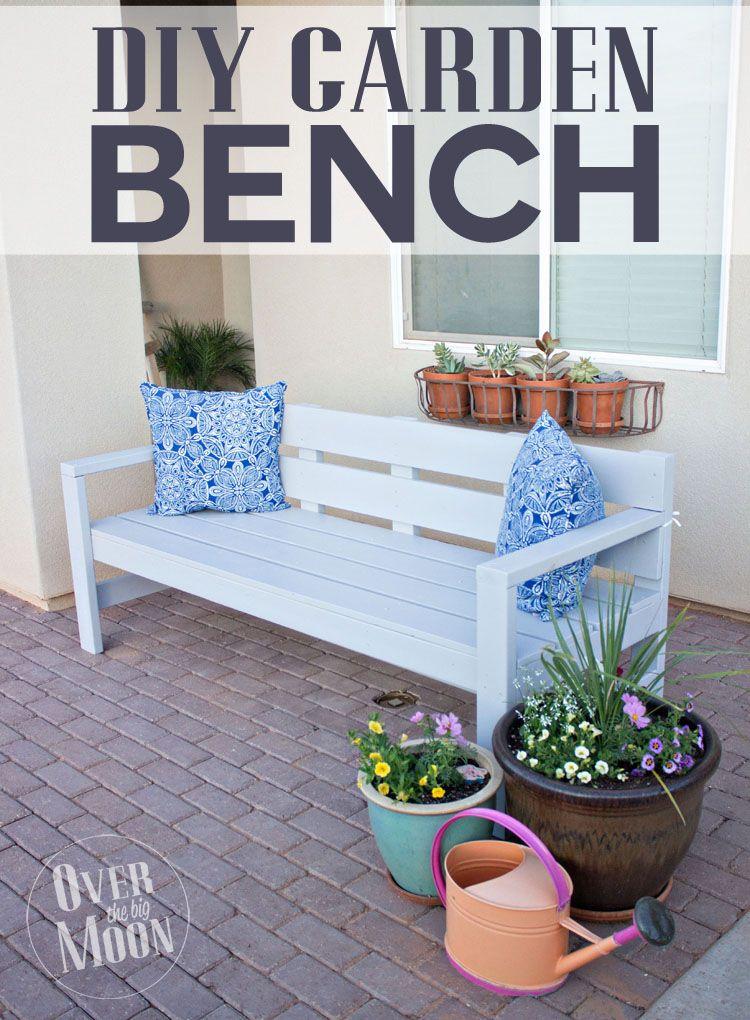 Diy Front Porch Bench Diy Bench Outdoor Garden Bench Diy Diy
