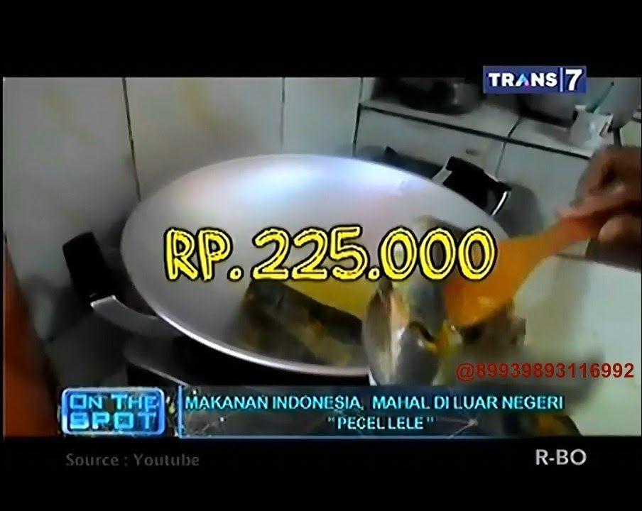 On The Spot Makanan Indonesia Yang Mahal Di Luar Negeri Indonesia