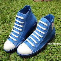 Sepatu Kanvas Casual Warna Biru Ciarmy Type Skc 02 Blue Dengan