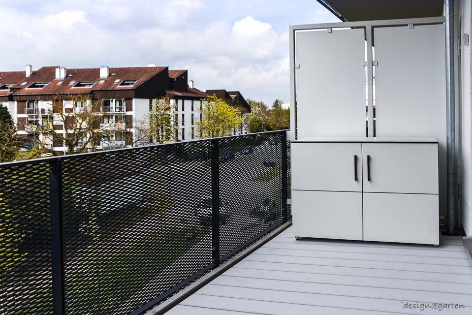 Munchen Balkonschrank Terrassenschrank Win Wetterfest Regensicher Uv Bestandig Gartenschrank Balkonschrank Mit Bildern Gartenschrank Balkonschrank