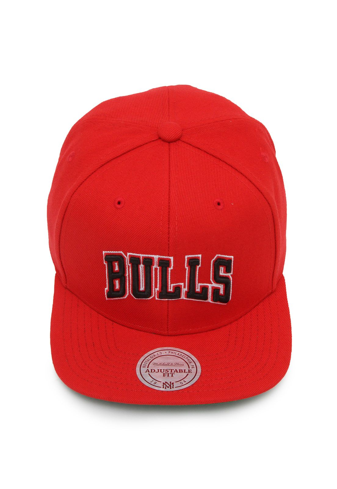 Boné Mitchell   Ness Snapback Chicago Bulls Vermelho em 2018 ... 75943576c1baf