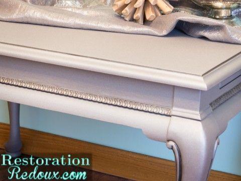 ModernMastersSideview - Restoration Redoux metallic finish