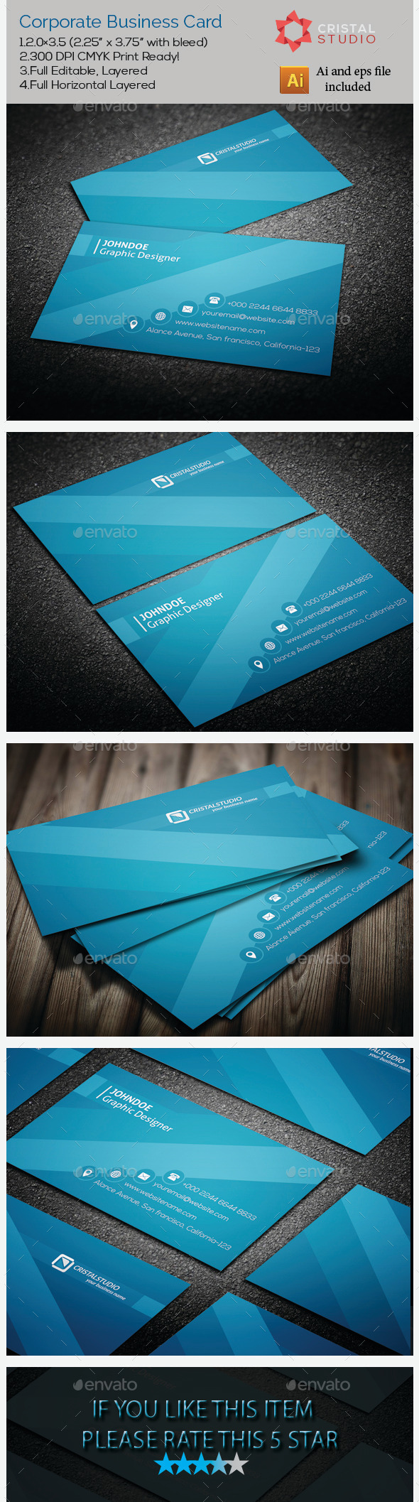 Corporate business card pinterest corporate business card corporate business card template ai buy and download httpgraphicriveritemcorporate business card9177754 reheart Choice Image
