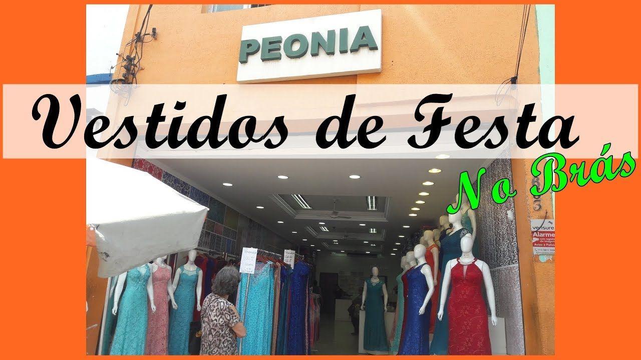 dc9b8032e Vestidos de Festa Loja Peonia no Brás