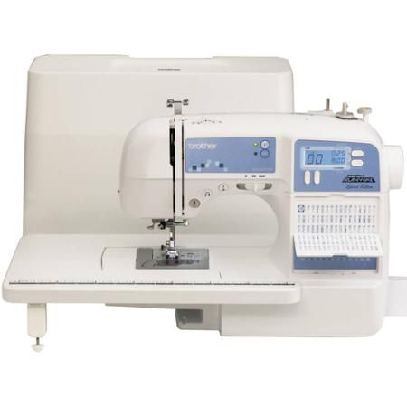 Brother Xr9550prw Project Runway Licensed Computerized Sewing And Quilting Machine With Hard Case Walmart Com Project Runway Sewing Machine Sewing Machine Computerized Sewing