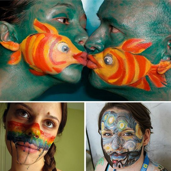 13 Lazy-Girl Halloween Costumes That Only Require Face Paint Easy - ideas for easy halloween costumes