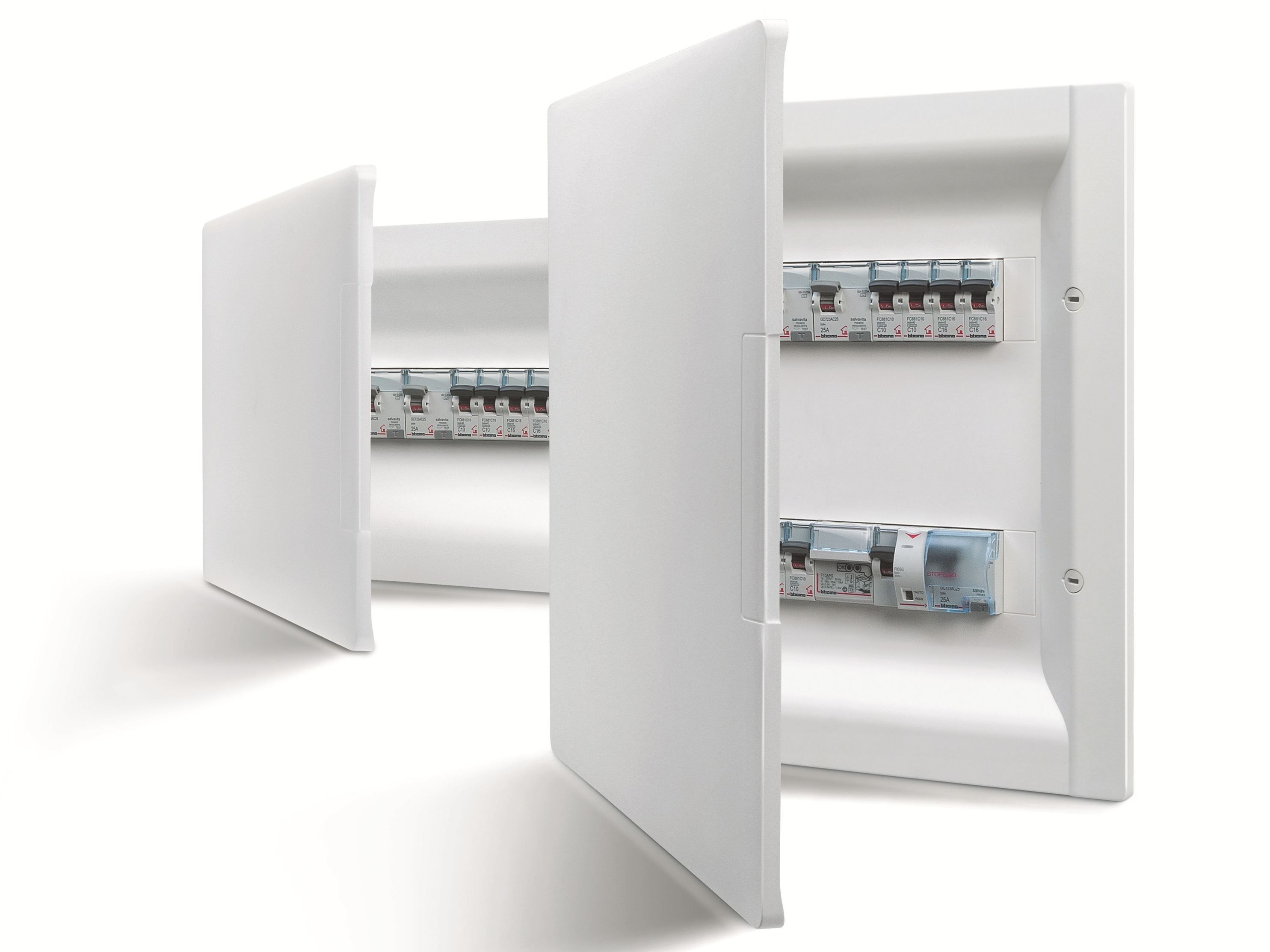 Electrical Switchboard Linea Space Bticino Home Automation System Locker Storage Home