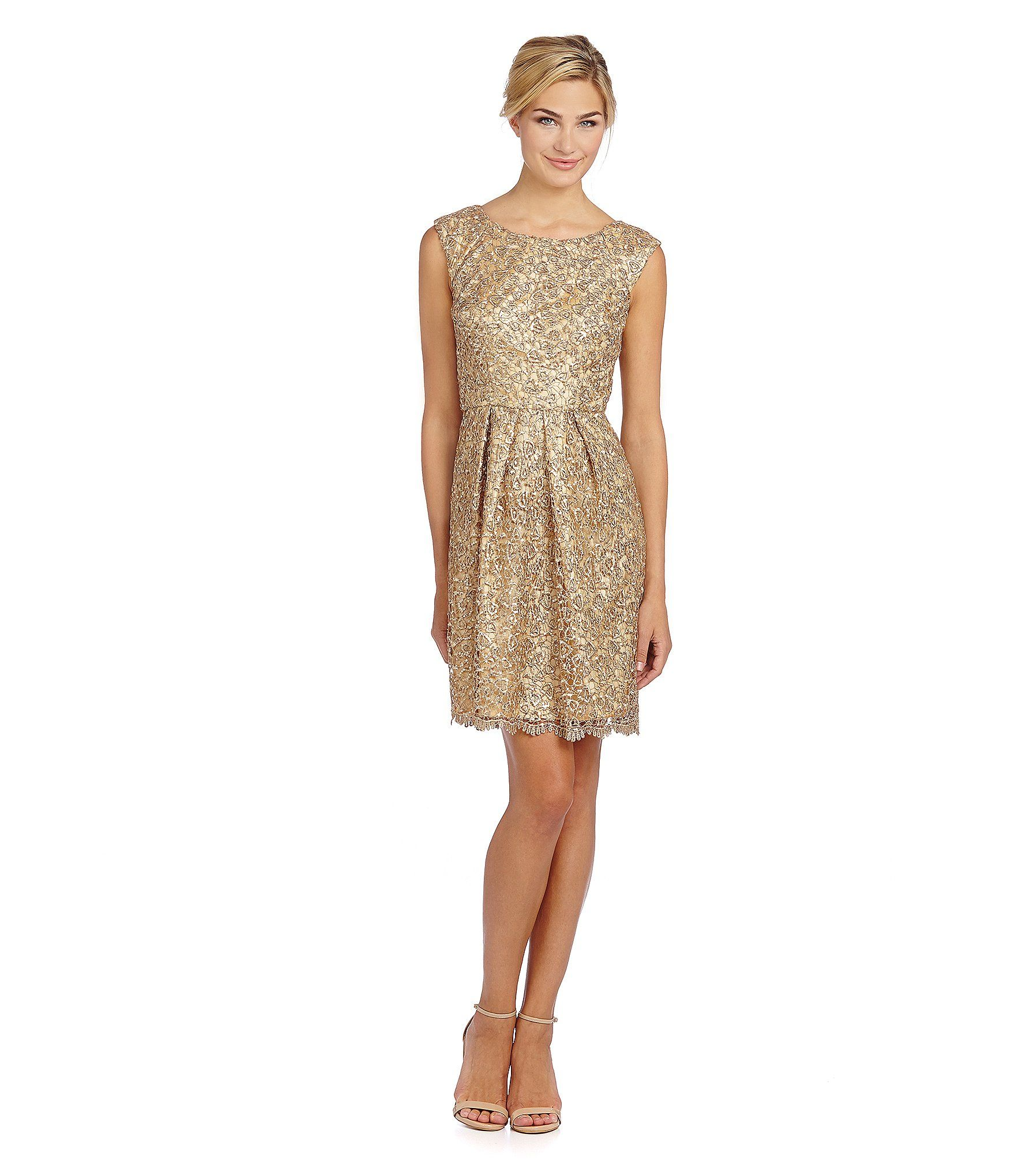 Decode 1.8 Sequined A-Line Cocktail Dress | Dillards | Brides maid ...