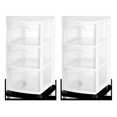 Home Drawer Cart Drawers Storage