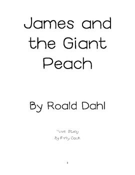 James and the Giant Peach Response Packet