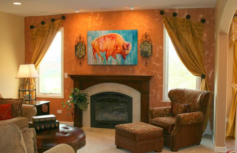 southwestern interior paint colors paintings by theresa paden rh pinterest com