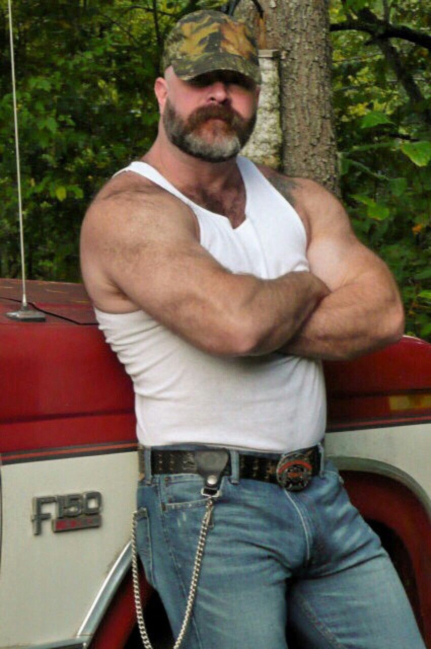 Knows it. Redneck rough hairy men naked with you