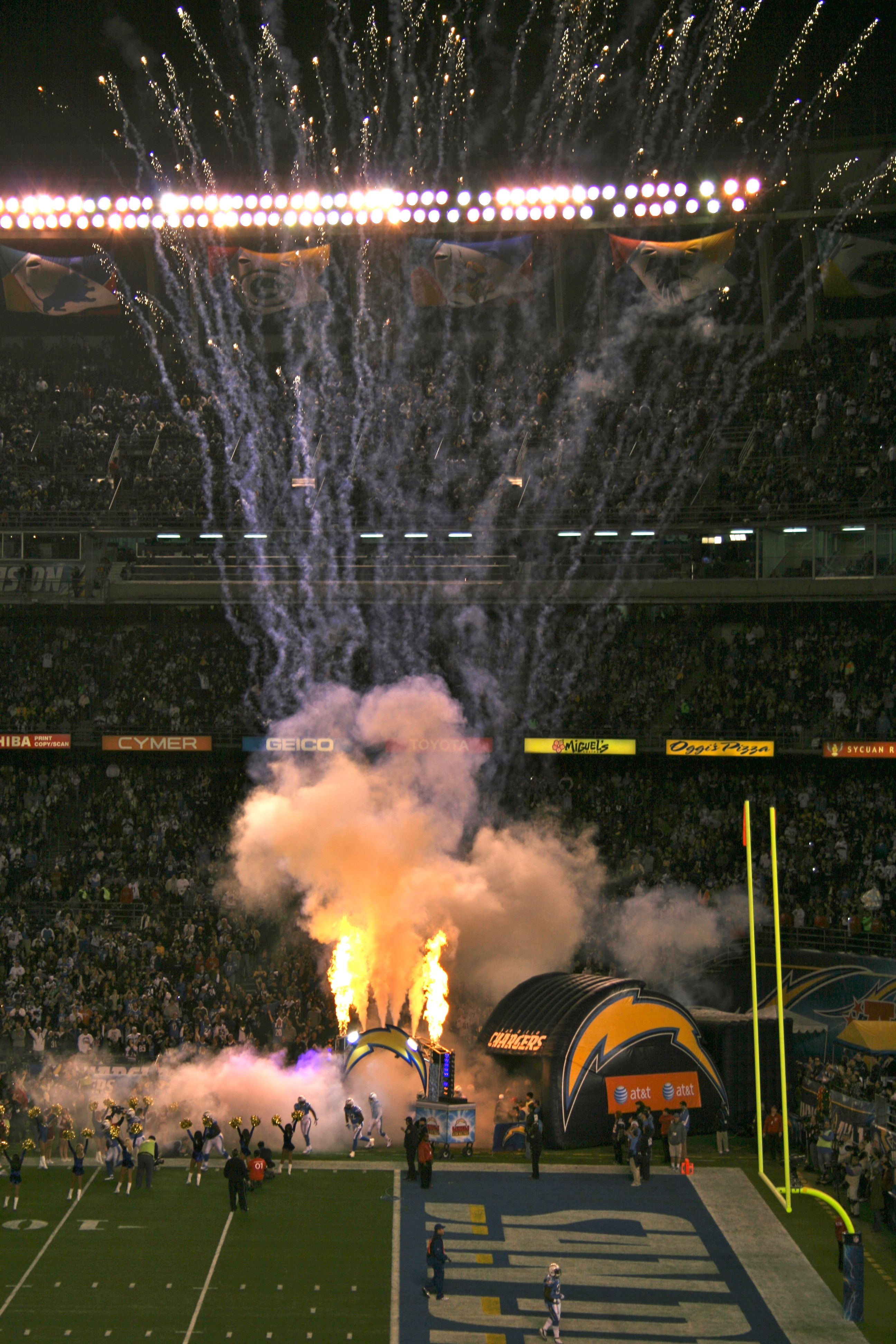 One Day I Know I Will See My Chargers Play At Home San Diego Football San Diego Chargers San Diego Padres