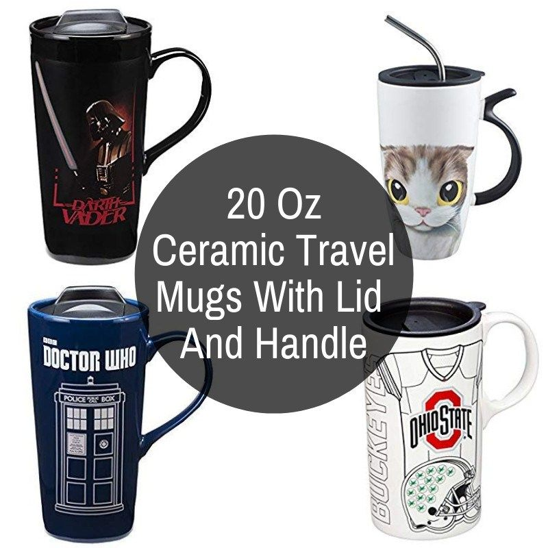 Ceramic Travel Coffee Mugs Porcelain Coffee Cup, I am NOT