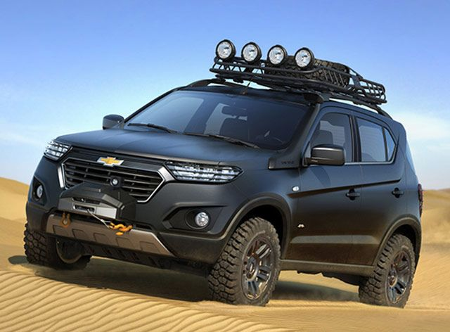 Moscow 2014 Chevrolet Reveals Niva Concept Chevrolet Suv Concept Cars