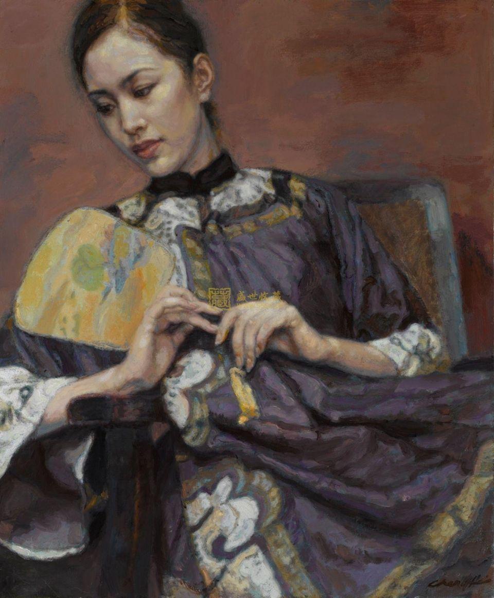 Realism Arts: Chen Yifei ~ Chinese Romantic Realism Painter