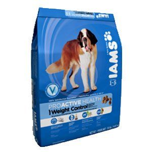 Iams Proactive Health Adult Weight Control Large Breed Formula Dry