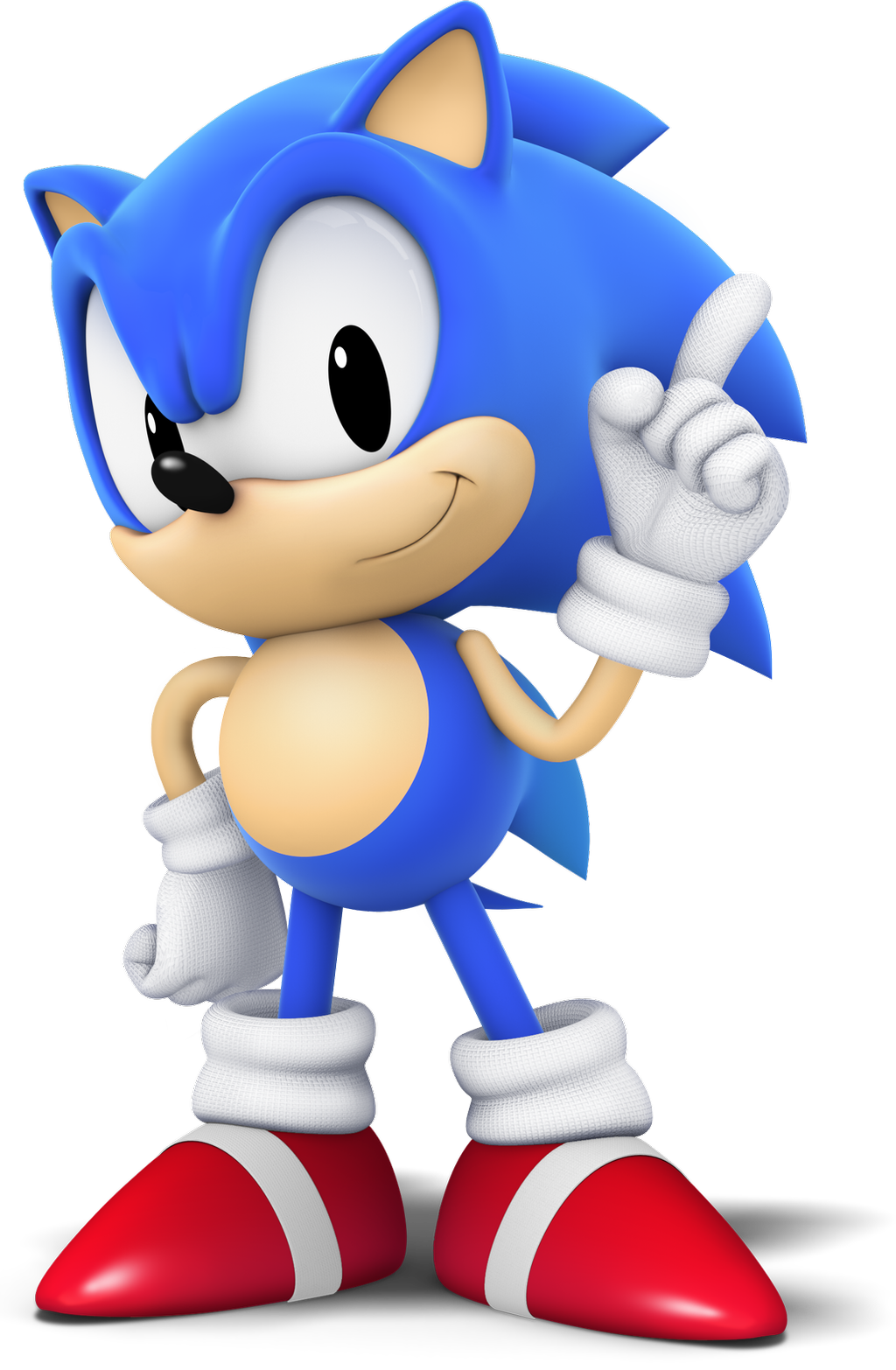 Classic Sonic (CG Style) by TomothyS on DeviantArt
