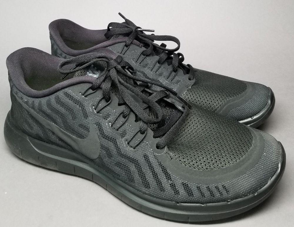 best loved c3918 c7305 NIKE Free 5.0 Barefoot Ride BLACK Mesh Running Sneakers ...