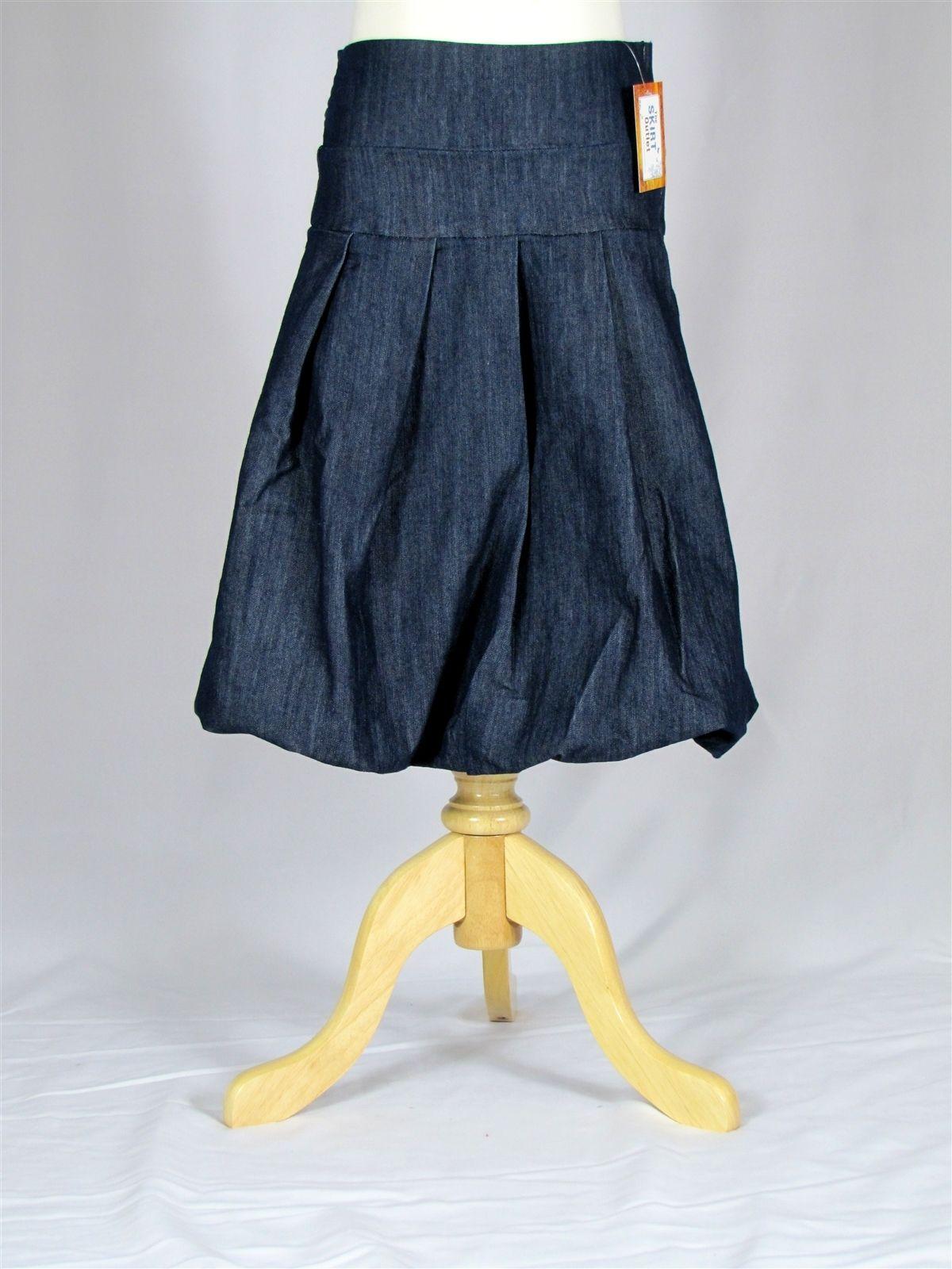 Denim Skirts Calf Length | Woot Girls Calf-Length Denim Skirt ...