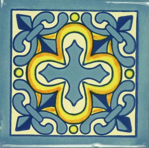Decorative Spanish Tile Beauteous Especial Ceramic Decorative Spanish Tile  Cross  Decoração 2 Design Inspiration