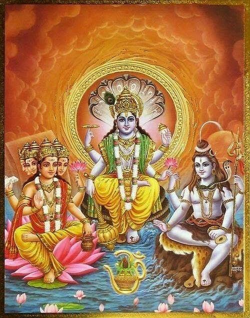 1204521679cfb The holy trinity : Brahma,Vishnu,Maheshwar. | ◇ Divinity : Hindu ...