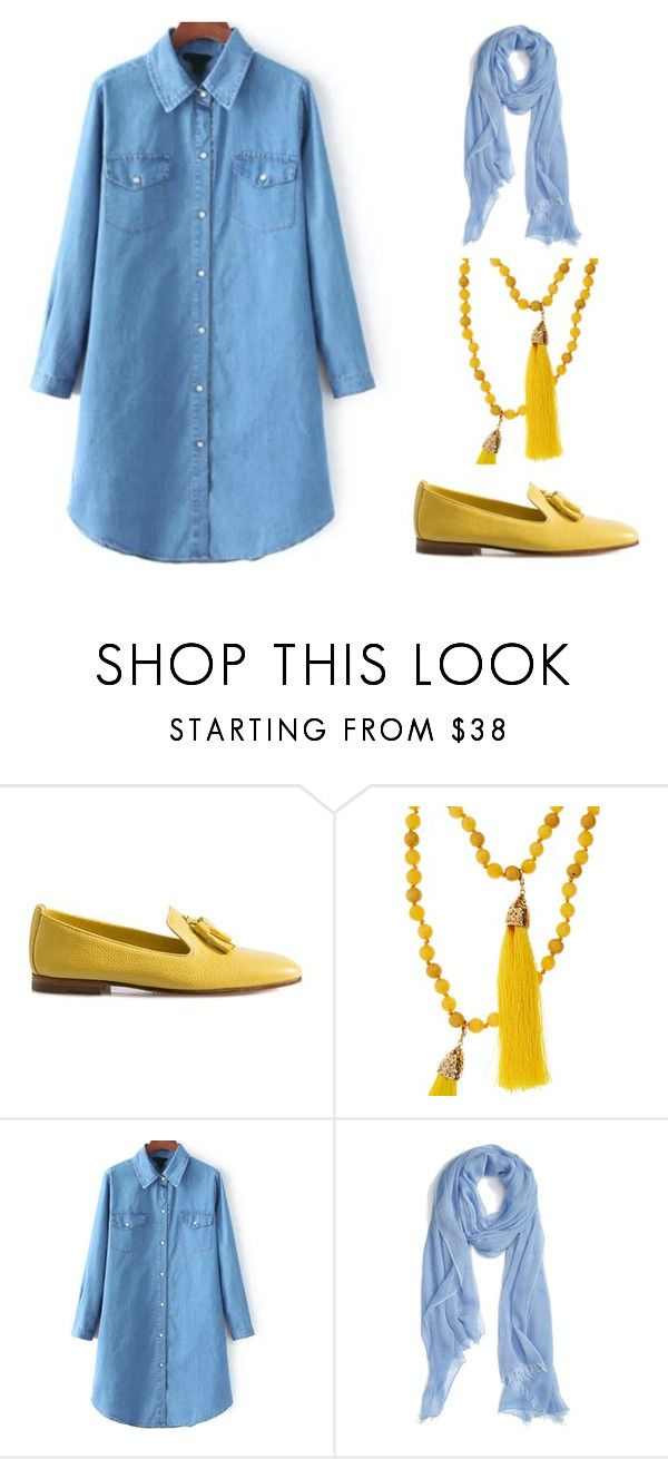 """Outfit Idea by Polyvore Remix"" by polyvore-remix ❤ liked on Polyvore featuring Santoni, Rosantica, Nordstrom, women's clothing, women, female, woman, misses and juniors"