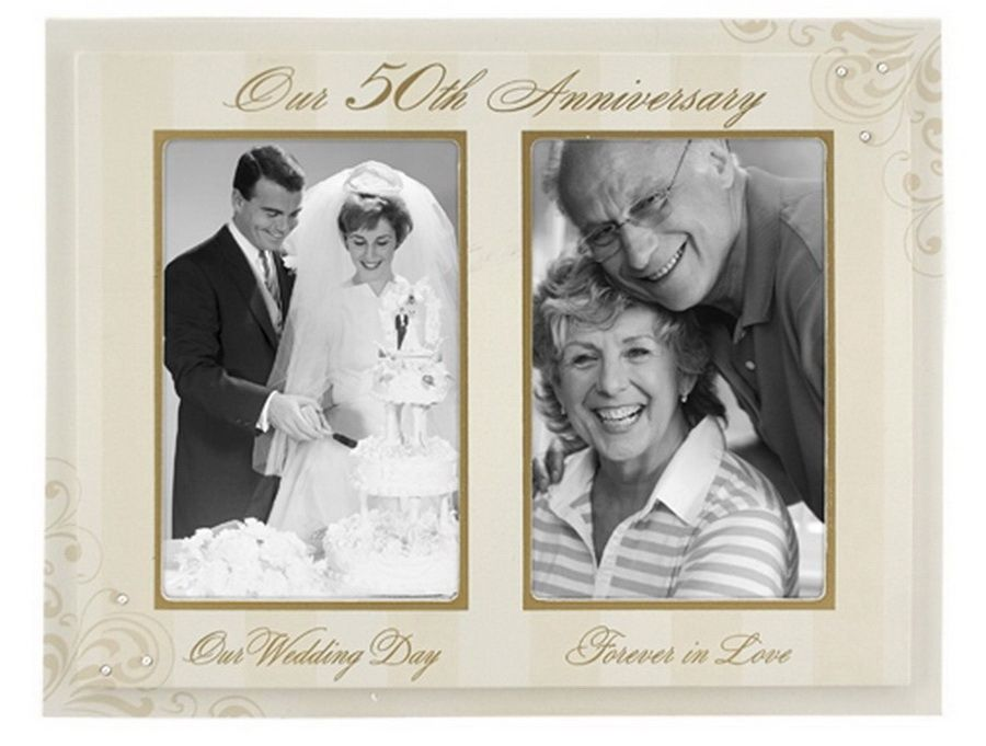 Gift For 50th Wedding Anniversary Traditional: Golden Wedding Anniversary Gifts. 50th Anniversary Gifts