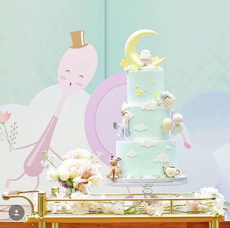 Nursery Rhymes Cake - First Birthday