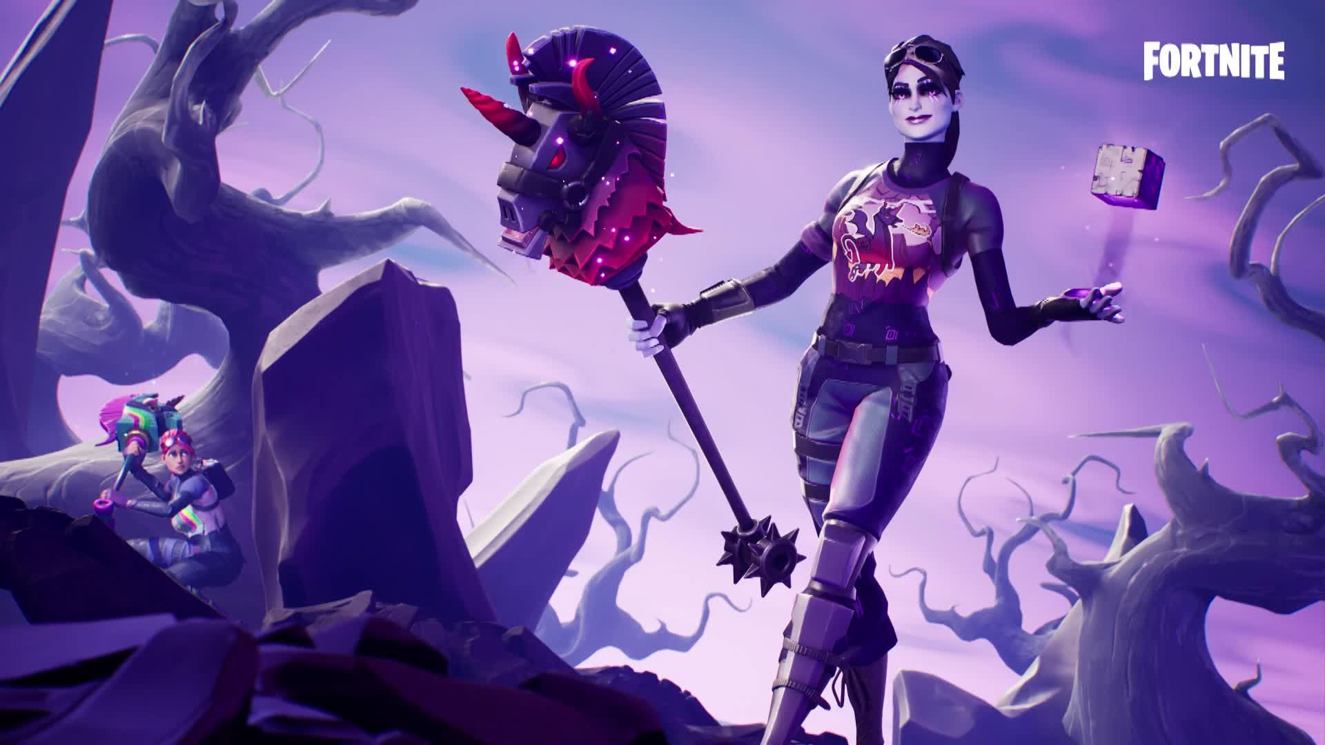 Fortnite Halloween Skin Live Wallpaper With Images Anime Epic