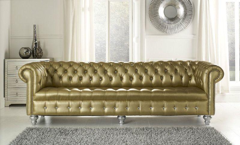 Chesterfield Big Sofa Xxl Als Sondergrosse Als 5 Sitzer 4 Sitzer 3 Sitzer Chesterfield Mobel Sofa Design Ledersofa