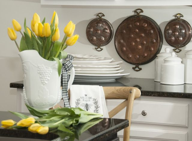 House in the Mountains: Spring in the Kitchen