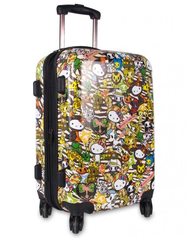1174e242f040 tokidoki x Hello Kitty Safari Rolling Suitcase