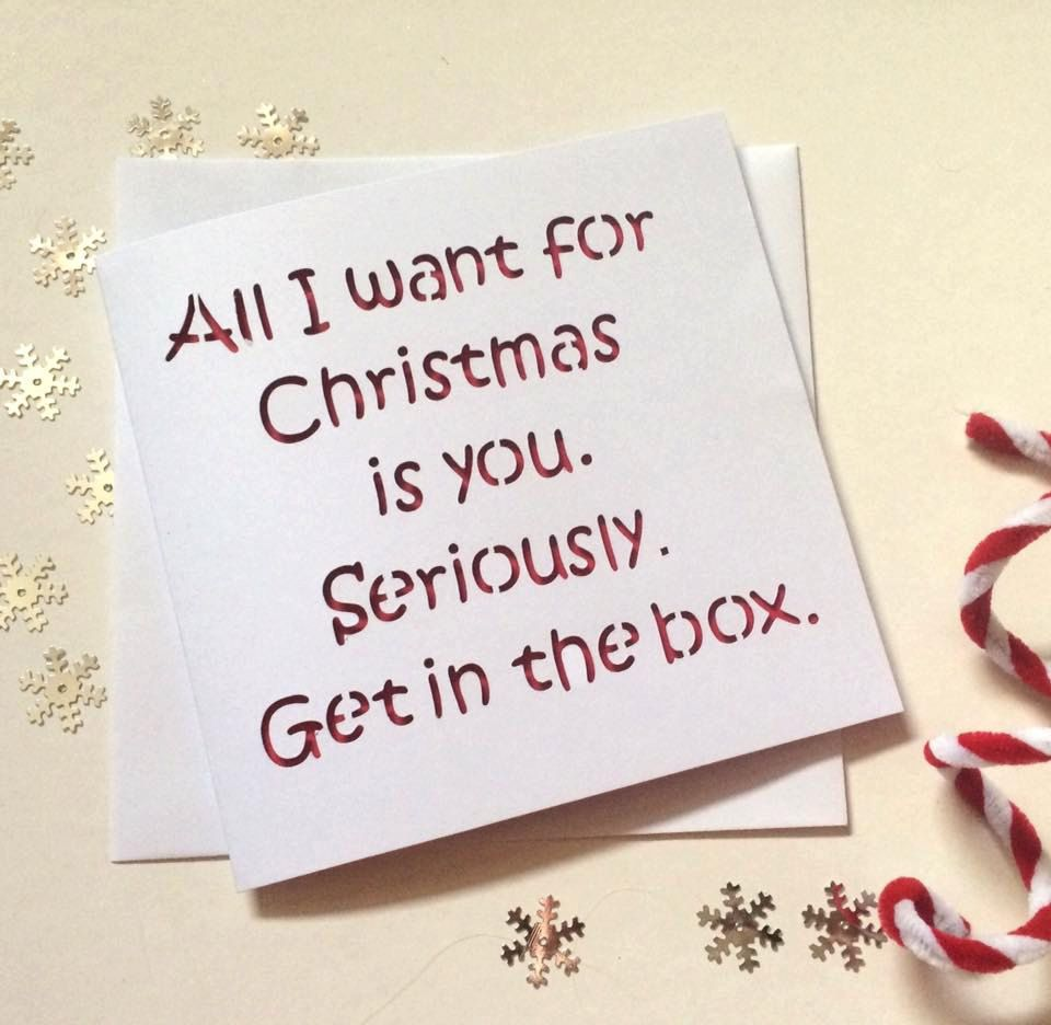 christmas card funny christmas card christmas card boyfriend christmas card girlfriend card - Christmas Card For Girlfriend