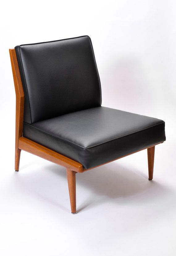 Fine Danish Modern Mid Century Modern Vintage Armless Slipper Creativecarmelina Interior Chair Design Creativecarmelinacom