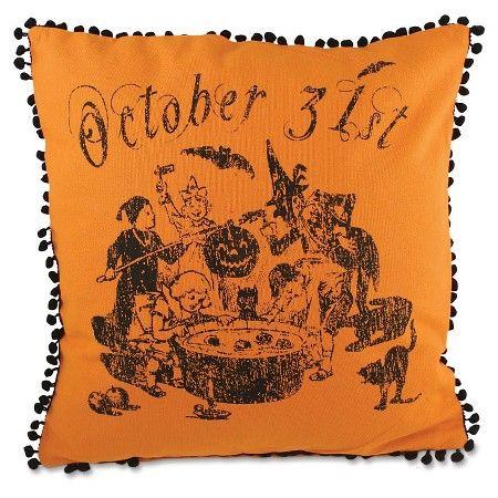 Halloween Bobbing For Apples Pillow  Target Halloween Pinterest