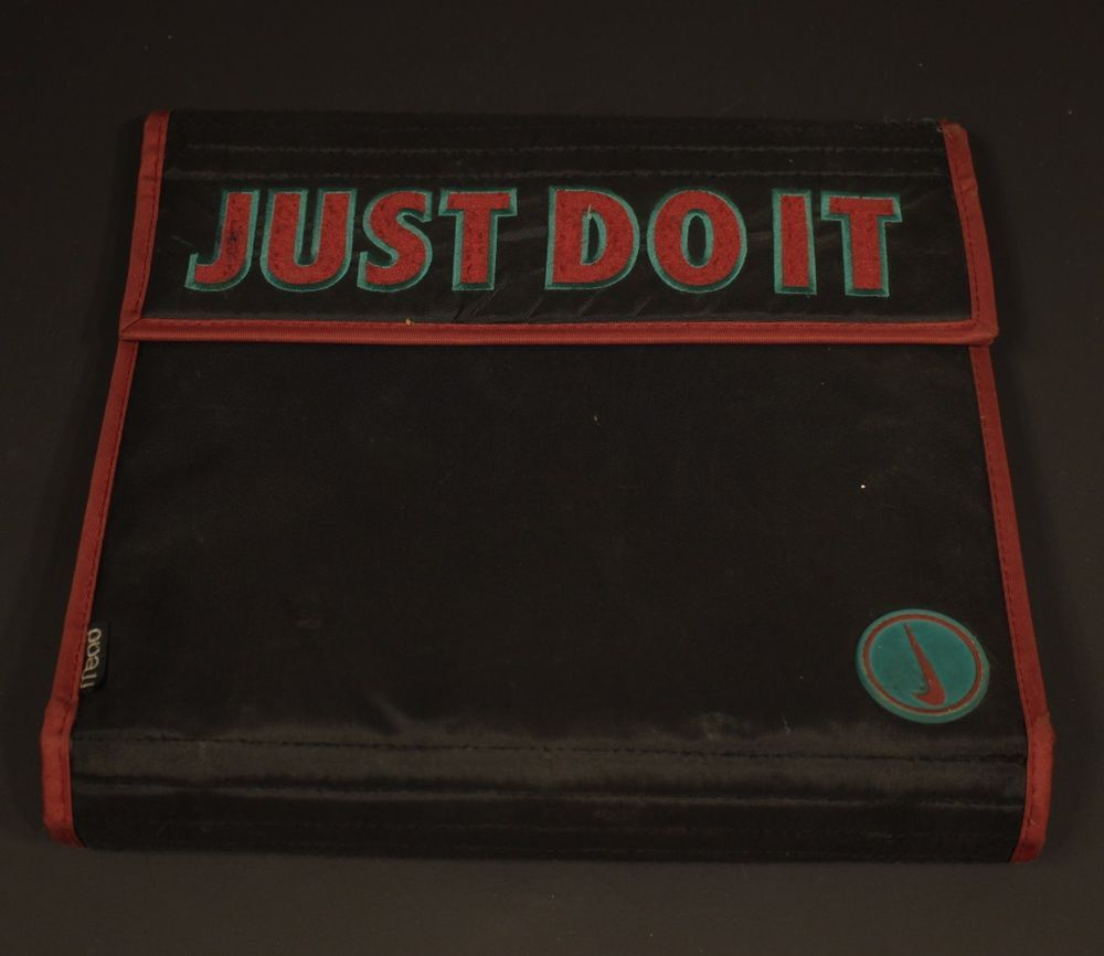 d20811d0238bd Vintage Mead Nike Binder Trapper Keeper 3 Ring Just Do It Swoosh 90s ...
