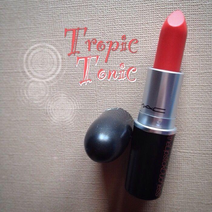 Mac Tropic Tonic Lipstick - Pinterest @ Lorenavanr