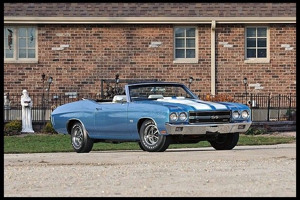 F271 1970 Chevrolet Chevelle SS Convertible 396 CI, Factory Air Photo 1