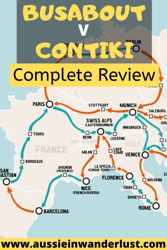 Wanting to compare travel companies for your European travel adventure? Both Busabout and Contiki offer fantastic European tours and this review will compare Busabout Europe and Contiki Europe packages. Find out which will suit you best with this review. #busabout #contiki #review