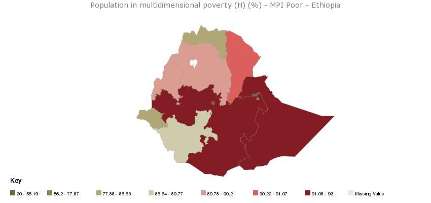 Ethiopia is the second poorest country in the world, per ...