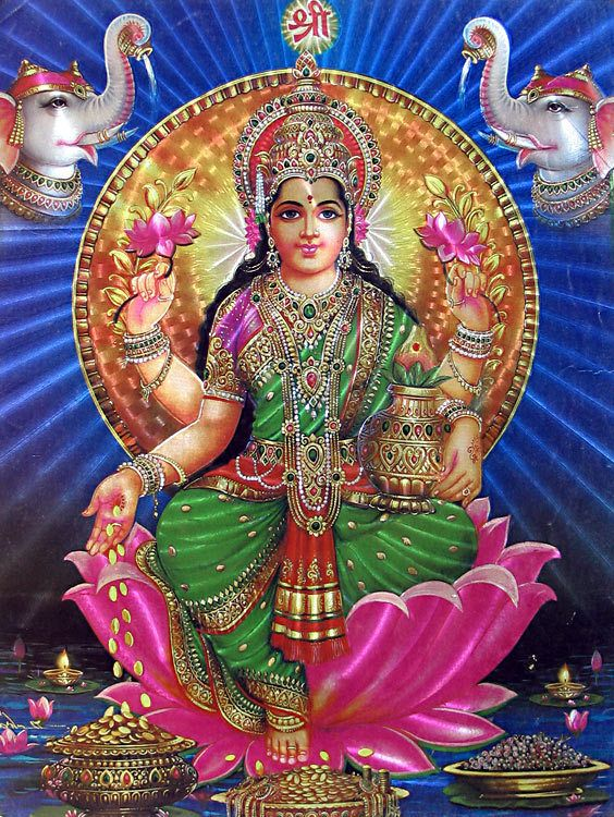 Opinion Hindu goddess lakshmi devi